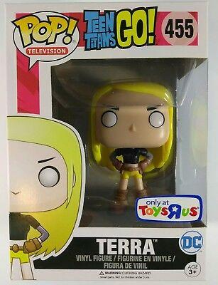 Teen Titans Go Television Vinyl Figure Terra POP