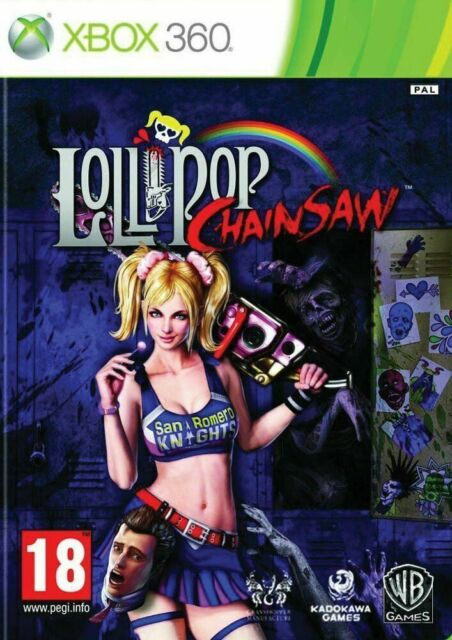 LOLLIPOP CHAINSAW / MICROSOFT XBOX 360 / NEUF SOUS BLISTER / VERSION FRANÇAISE