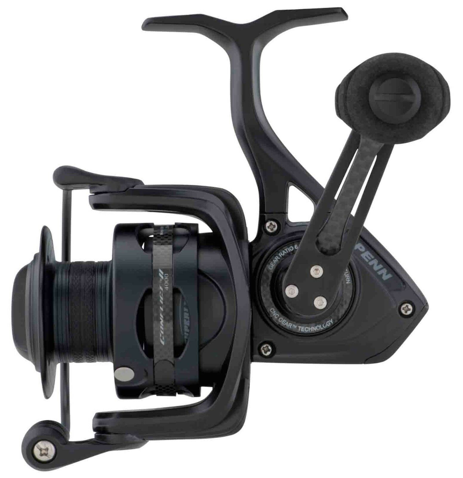 Penn  New Conflict II LC Long Cast Sea Spin Spinning Saltwater Beach Fishing Reel  quality product