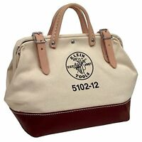 Klein Tools 5102-12 12-inch Canvas Tool Bag, New, Free Shipping on sale