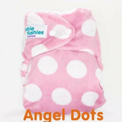 7 Cushie Tushies Modern Cloth Nappies Inc Inserts Pink & Purple Brand New
