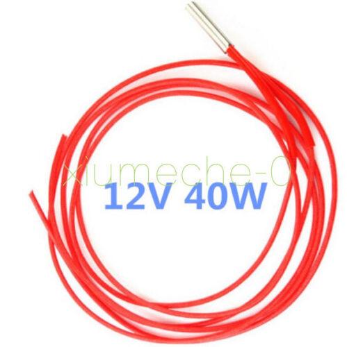 Reprap 12v 40W Ceramic Cartridge Wire Heater For 3D Printer Prusa Mendel Arduino