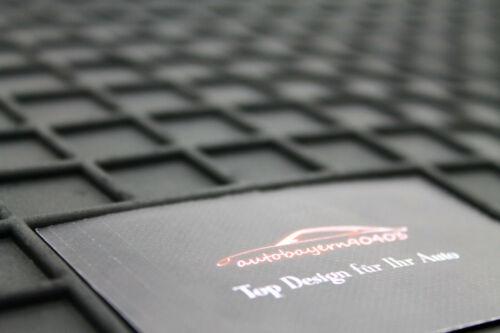 Gummi Fußmatten Gummimatten Auto Matten passend für Hyundai Getz 2002-2009
