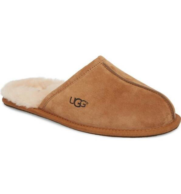 a39121d1a230 UGG Australia Scuff Mens Suede Scuffs Slippers Shoes 11 for sale ...