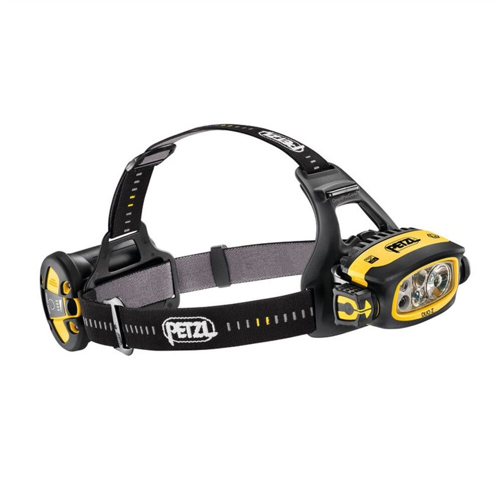 Petzl 2018 DUO Z2 imperméable Headlamp 430 luPour des hommes Hazmat Rated ATEX 4AA Batteries