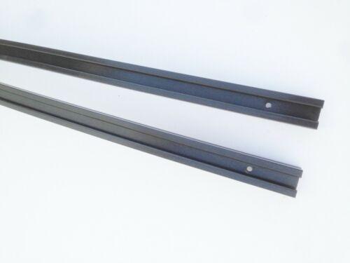 "Profile 26 56/"" long pair UHMW Hyfax Slides for Polaris GRAPHITE"