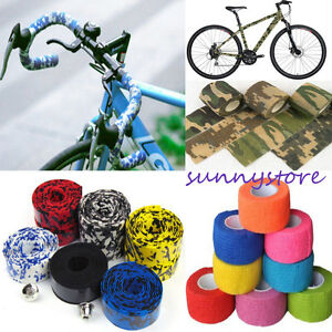 1pc Handlebar Tape Bicycle Parts Bandage Camouflage Bike Decor Diy