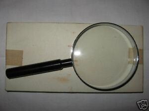 LOUPE x 3, diamètre 10 cms,  ARMEE FRANCAISE