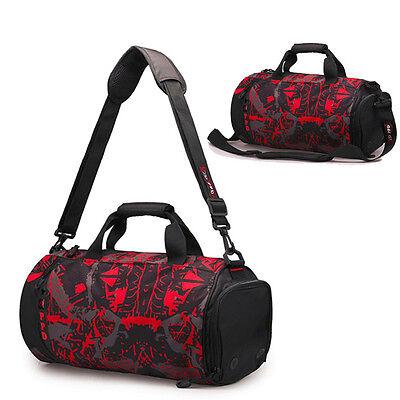 Women Men Waterproof Travel Luggage Shoulder Bag Handbag Outdoor Sports Gym Bag