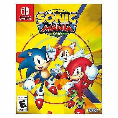 Sonic Mania Plus Nintendo Switch, 2017  - $35.00
