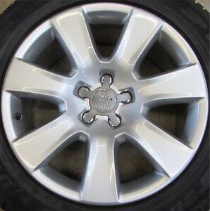 4-x-Original-Audi-A8-4H-18-Zoll-Alufelgen-Speichen-Sty-7-5x18-ET26-4H0601025B