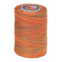 880star Cotton Machine Quilt & Sew Threadvariegatedautumnrust, Orange