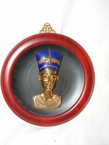 Bradex-Edicion-Limitada-Nefertiti-Plate-The-Eternal-Beauty-3d-Placa-con-Marco