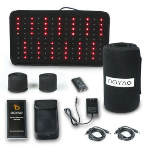 DGYAO-Red-Light-Therapy-Near-Infrared-Light-Wrap-for-Pain-Relief-with-Power-Bank