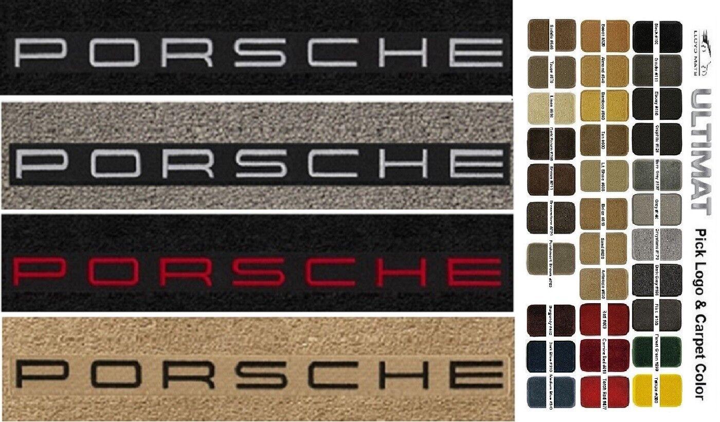LLOYD ULTIMATS™ LICENSED PORSCHE® front FLOOR MATS; 2001-2004 Porsche 911 996