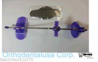 Adjustable Orthodontic Face Mask Reverse Pull Headgear Purple / Mascara Facial