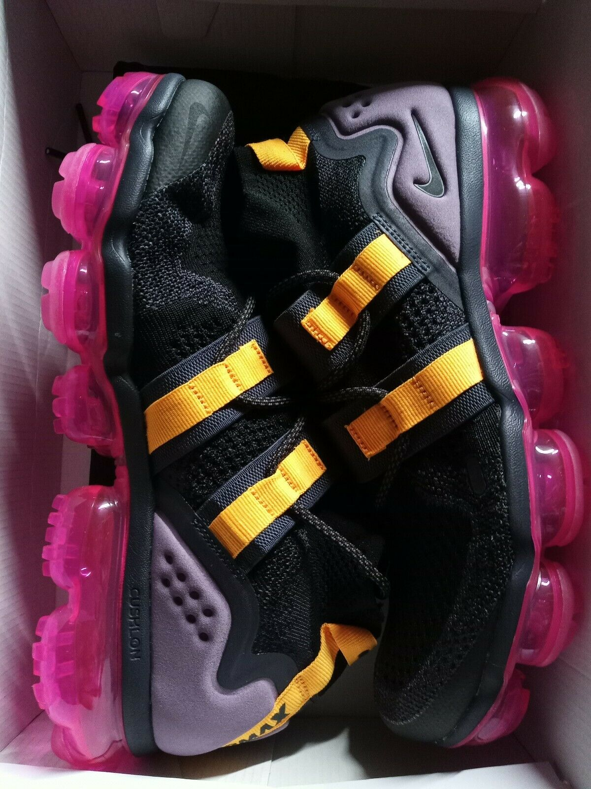 9 MEN'S NIKE AIR VAPORMAX FK UTILITY PINK BLAST Black Men's AH6834-006