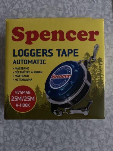 Original-Spencer Foresterie Ruban à Mesurer 25 M Avec pliage crochet de type A automatique