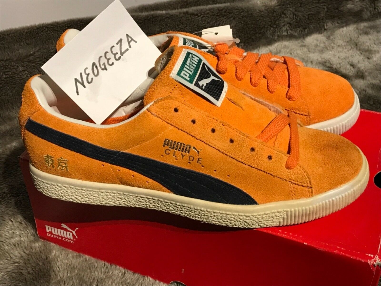 Puma Clyde UK7. Chase No:3 Deadstock New in box Rare UK7. Clyde Trusted seller.  dc0423