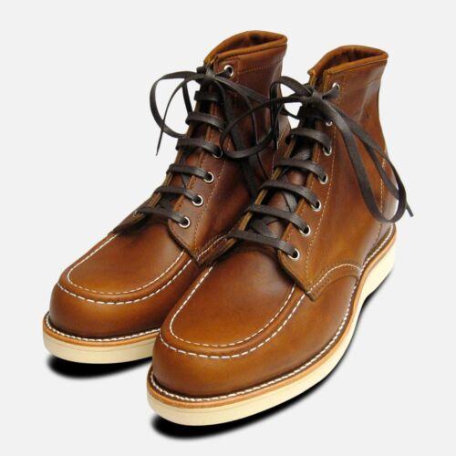 Renegade Vibram Toe Scarpe Boots Chippewa Moc Tan Suola 1901m22 Leather XTwEnvxqw