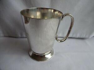 Vintage Silver Plate EPNS Tankard Engraved DOLGELLEY GOLF CLUB 1946 SHEFFIELD
