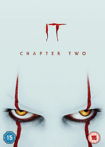 IT Chapter Two (DVD) James McAvoy,Jessica Chastain,Bill Hader,Isaiah Mustafa