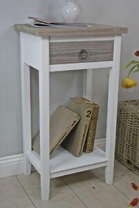 telefontisch holz rustikal braun landhaus beistelltisch. Black Bedroom Furniture Sets. Home Design Ideas