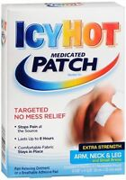 Icy Hot Medicated Patches Extra Strength Small (arm, Neck, Leg) 5 Each (4 Pack) on sale