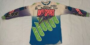 VINTAGE-Kevin-Windham-race-worn-SIGNED-Motocross-Jersey-Thom-Veety-AHRMA