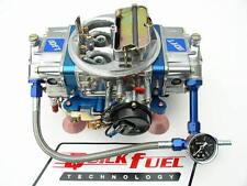 QUICK FUEL SS-650 CFM GAS MECH CARB #6 BLUE COLOR  FREE LINE KIT WITH GAUGE
