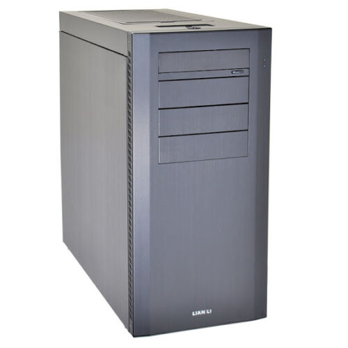 LIAN LI PC-A61B Black Aluminum ATX Mid Tower Computer Case