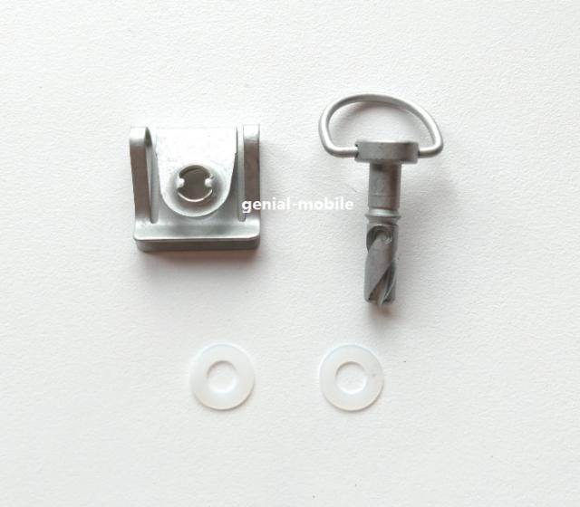 Smart 451 Drehverschluss Schraube für Motorabdeckung Motorraumdeckel neu