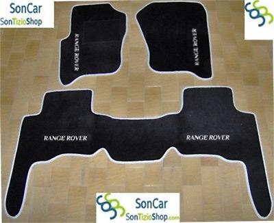 LAND ROVER RANGE ROVER SPORT fino al 2012 TAPPETI AUTO 4loghi+4blok