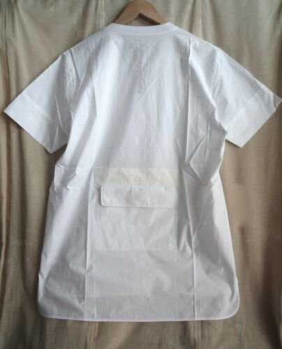 With Pocket By Huge Shirt White Damir Doma Back The One Silent S Size wnRW0CqXX