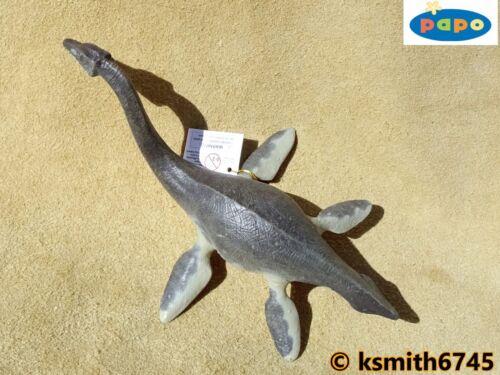 Nuevo * Papo plesiosauro plástico sólido Juguete Animal De Dinosaurio Jurásico Mar