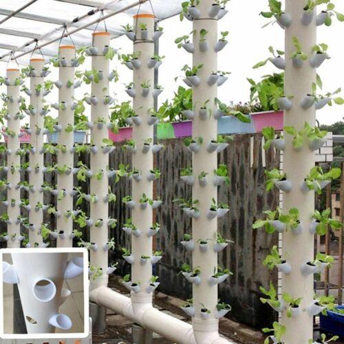 40Pcs fai da te coltura idroponica Pentole per la coltivazione verticale della torre sistema dispositivo soilless impostato