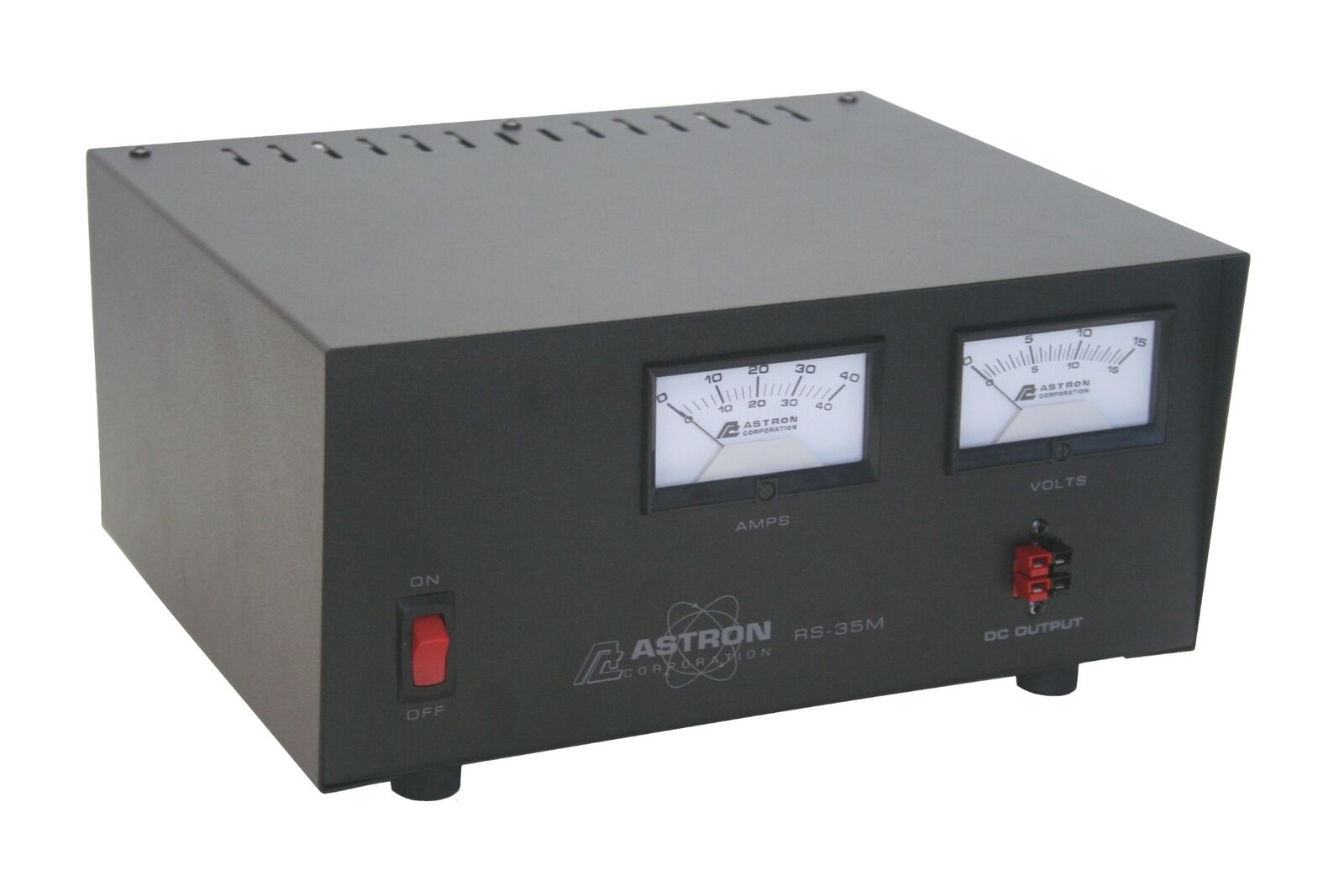 Astron RS-35M-AP Desktop 13.8VDC Linear PSU with Meters and Anderson Power Poles. Buy it now for 269.95