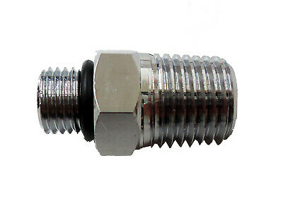 3//8 x 24 scuba to 1//4 NPT diving adapter Perfect for Hookah