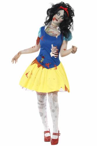 Smiffy/'s Femme Zombie Snow Fright Costume Femmes Princesse Halloween Déguisements
