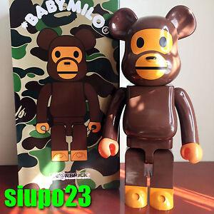 717dc2ad Medicom 1000% Bearbrick ~ A Bathing Ape Baby Milo Be@rbrick   eBay