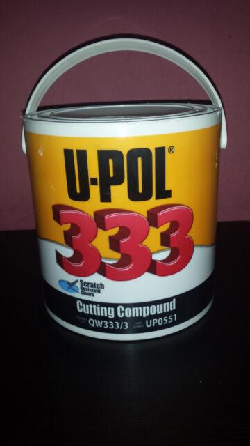 U POL 333 U-POL Cutting Compound Large Paste Tub 3.25KG