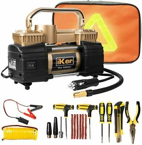 12V-Heavy-Duty-Portable-Air-Compressor-Car-Auto-Tire-Inflator-Pump-Repair-Kit