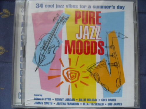 1 of 1 - Various Artists - Pure Jazz Moods (2003) - 34 cool Jazz Vibes for a Summers Day