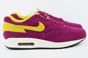timeless design 5d0a5 58a78 Image is loading Nike-Air-Max-1-Premium-Berry-Mens-Multi-
