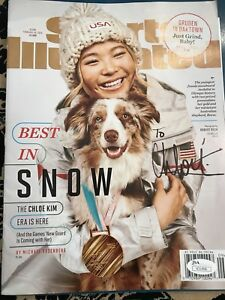 Chloe-Kim-Signed-autograph-Sports-Illustrated-Magazine-JSA-Winter-Olympics-Gold