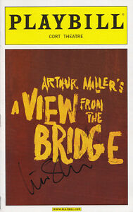 Scarlett-Johansson-Signed-Autograph-A-View-From-The-Bridge-Broadway-Playbill-COA