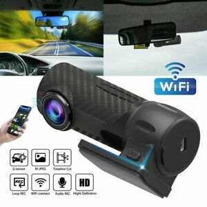 1080P-HD-Car-Camera-DVR-Dash-Cam-Recorder-WiFi-G-sensor-Parking-Mode