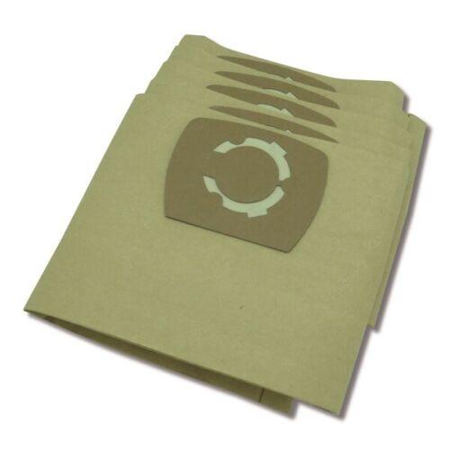 Pour adapter Karcher K2801 /& 2801 plus Série Aspirateur Poussière Papier Sac 5 Pack