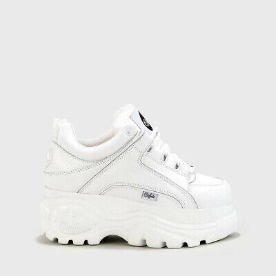Buffalo London Classic Boots Shoes Plateau Schuhe 90er Weiß 1339-14 Eine GroßE Auswahl An Waren