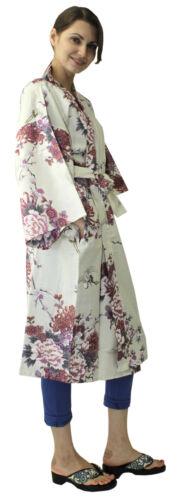 Halloween grues florales veste blanc cadeau 921 nouveauté manteau Kimono Happi ethnique fqFWgWv
